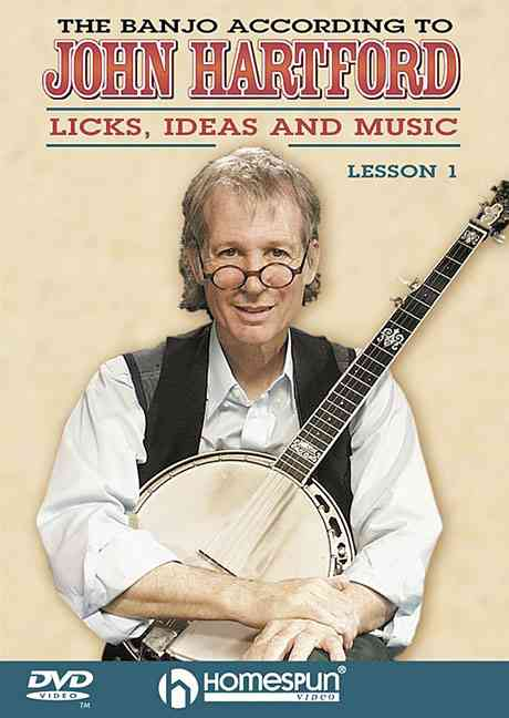 BANJO ACCORDING TO JOHN HARTFORD V 1 BY HARTFORD,JOHN (DVD)